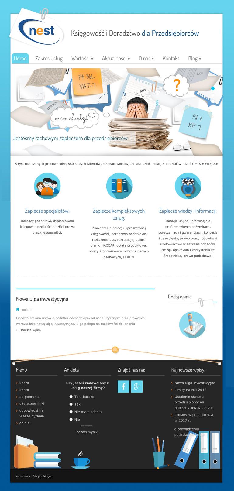strony internetowe - projekty
