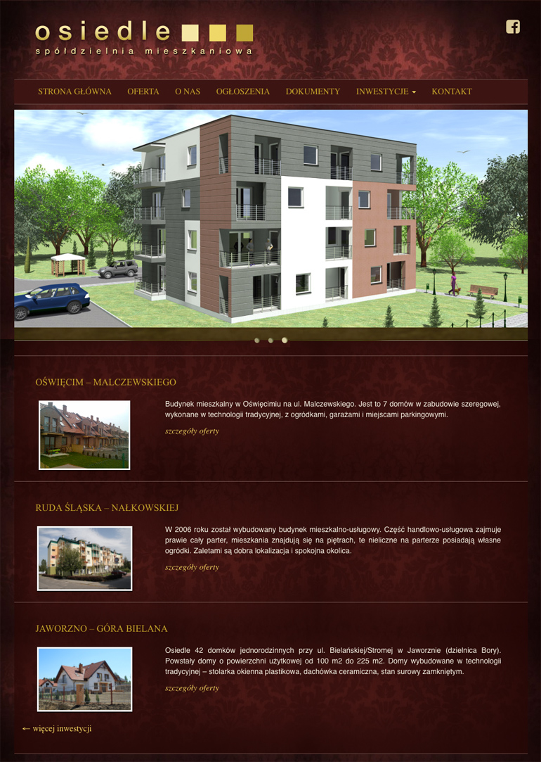 strona www rozbudowana