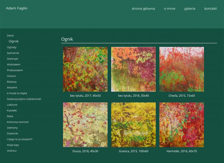 cena za stronę www