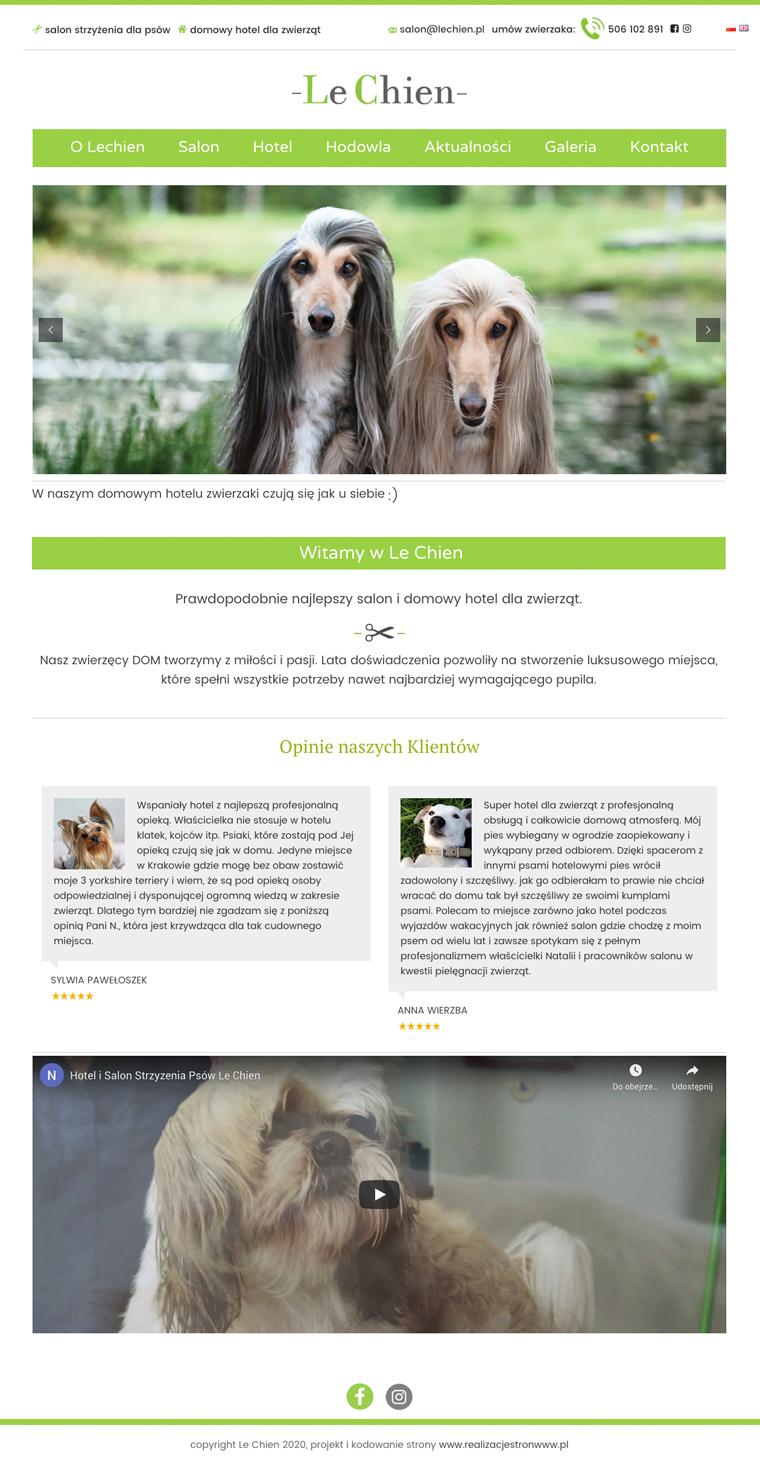 strona www z cms